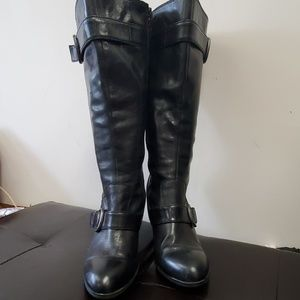 Born leather knee boots